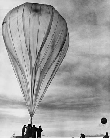 BW weather balloon