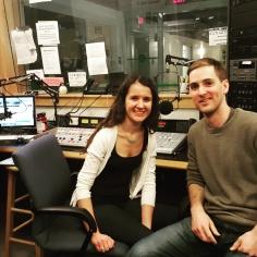 Nick and Melda @ WPRB